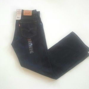Levi's 505 boys blue denim jeans 28x28